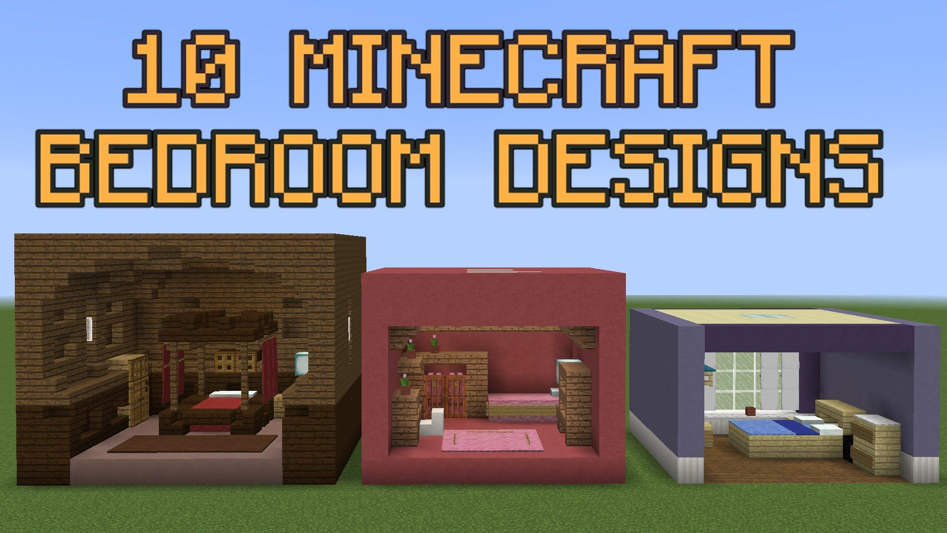 10 Minecraft Bedroom Designs With Images Minecraft Bedroom