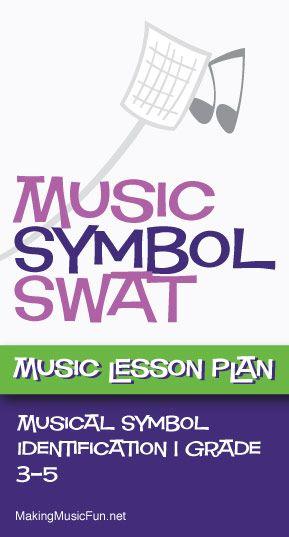 Music Symbol Swat Free Music Lesson Plan Game -   - music lesson plan