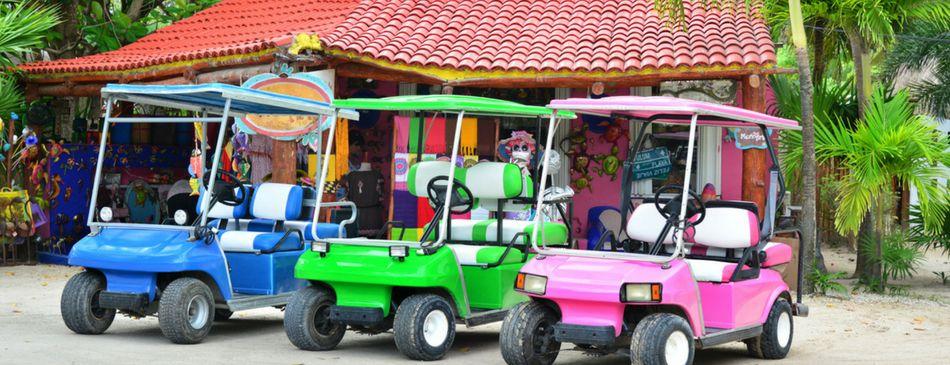 18+ Cancun golf cart rental viral