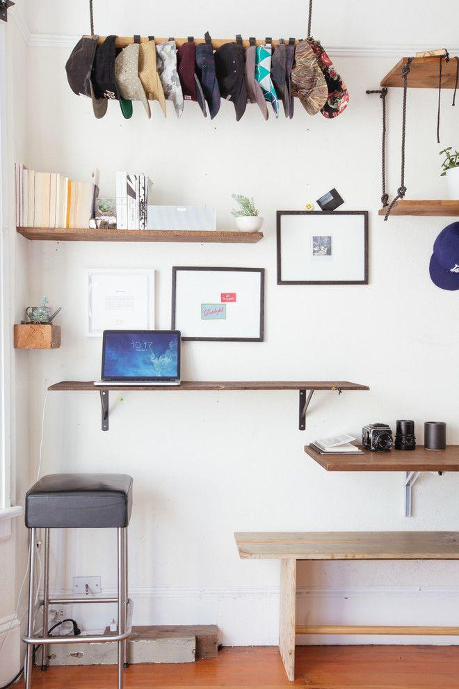 diy floating desk diy home. Breathtaking Hat Racks Decorating Ideas For Home Office Eclectic Design With Bar Stool Craftsman. Cool Computer DesksFloating Diy Floating Desk G