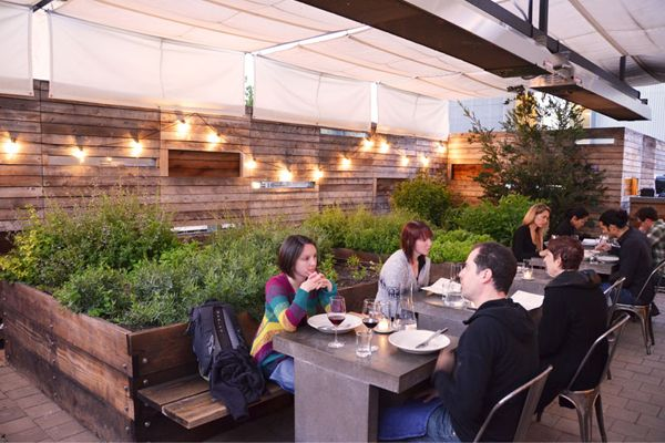 Bar Agricole SF, Dining Amongst The Herb Garden   Google Search