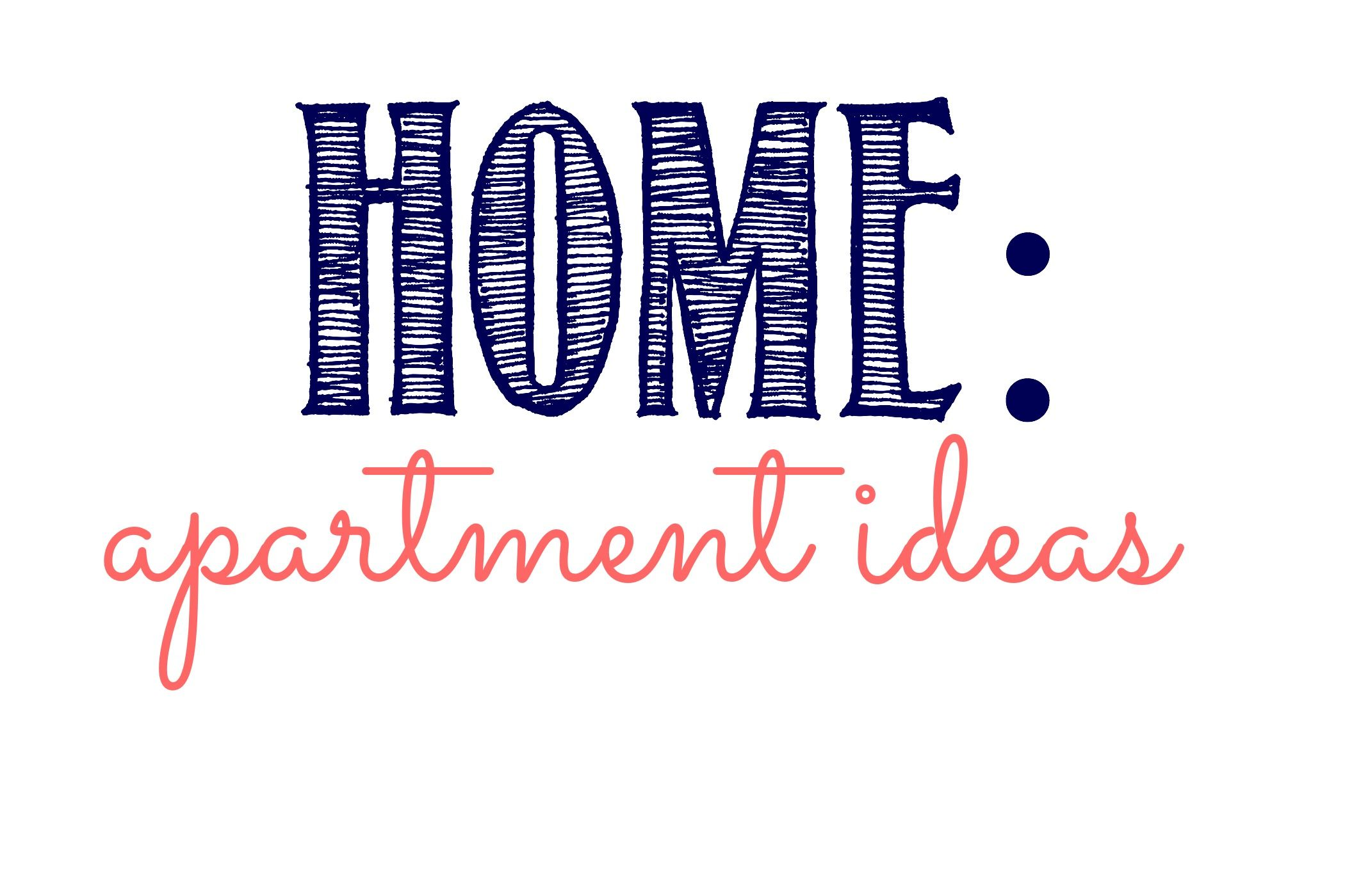 Home: Apartment Ideas Board Cover   My Small Organized Life