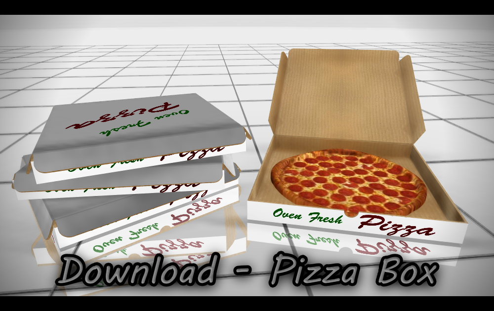 Download Pizza Box By Daschui Pizza Boxes Pizza Computer Generated Imagery