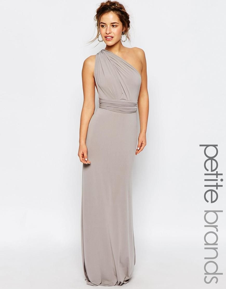 TFNC Petite | TFNC Petite WEDDING Multiway Fishtail Maxi Dress at ...