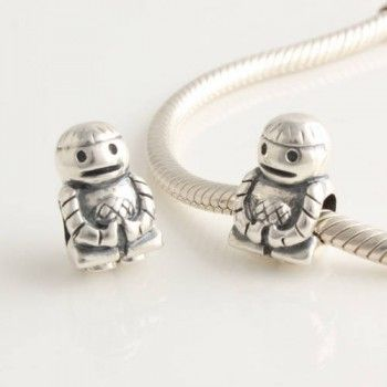 Sterling Silver Friendship Boy Charms - Tibet Silver Charms - Charms - LYDIA JEWELLERY