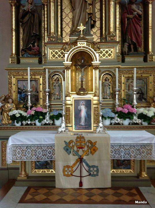 En sagrado altar.