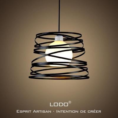 LoDo® Nordic Fer PERSONNALITE créative lustre salon moderne - lustre pour salle a manger