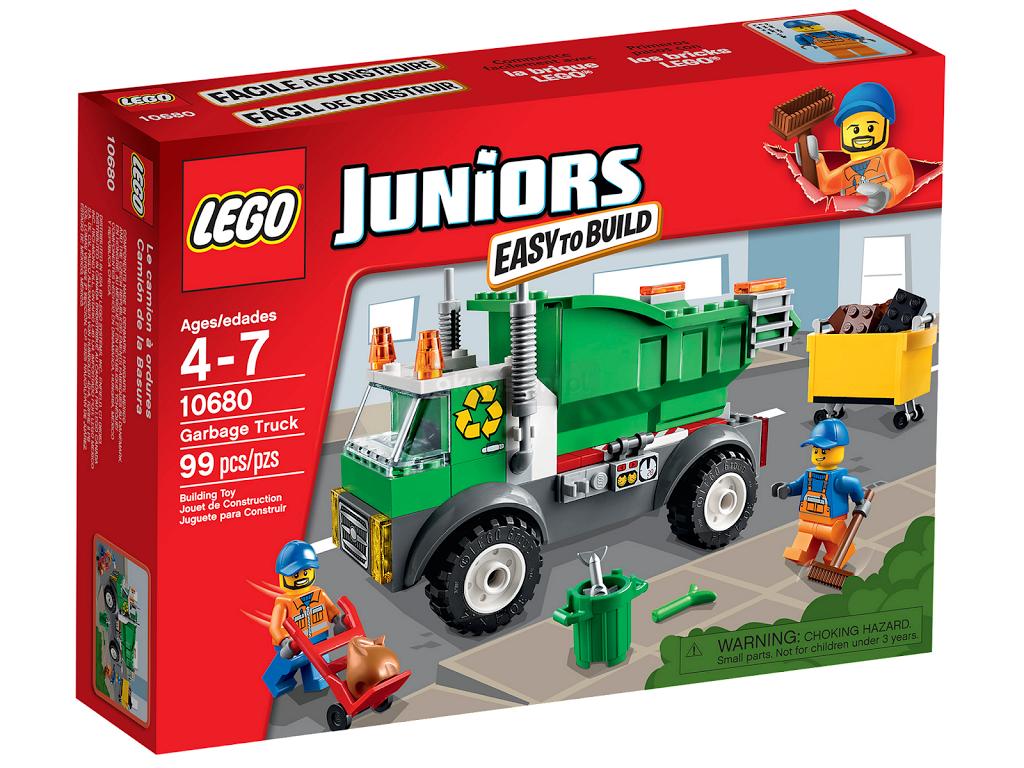 Lego Juniors śmieciarka 10680 At Poznań 5672195226 Allegropl