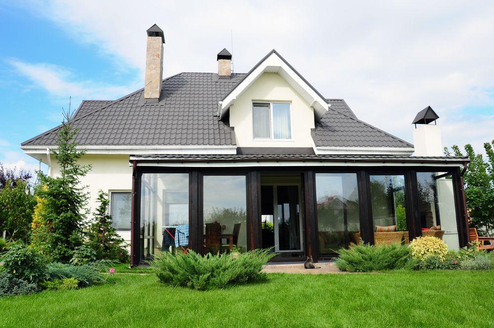 Mit Dem Bausatz Einen Wintergarten Bauen Wintergarten Hauser Mit Pool Style At Home
