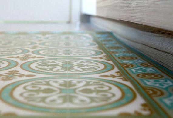 Bad Fußboden Linoleum ~ Tiles pattern decorative pvc vinyl mat linoleum rug color