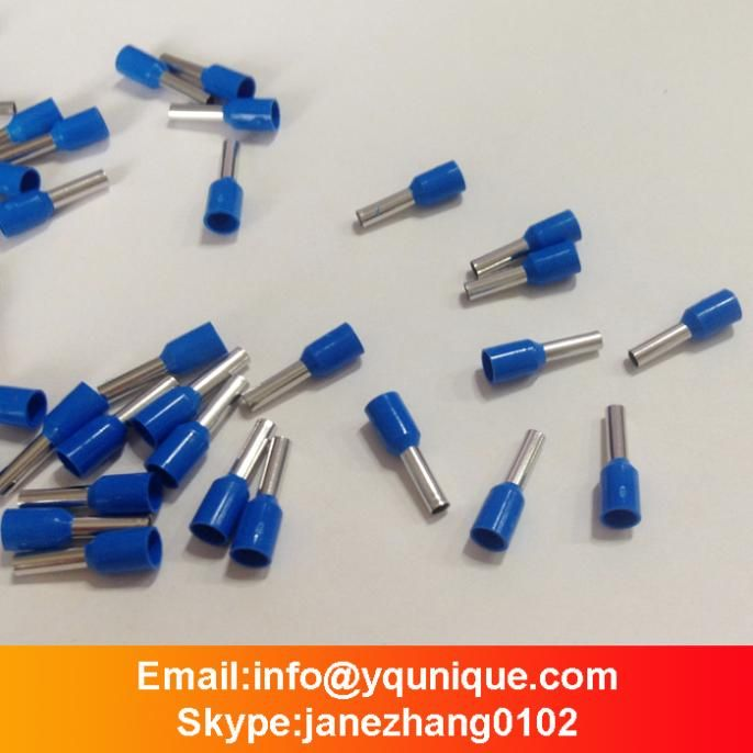 Free Shipping (100) Blue E2508 PVC Insulated Wire Ferrules For 2.5 ...