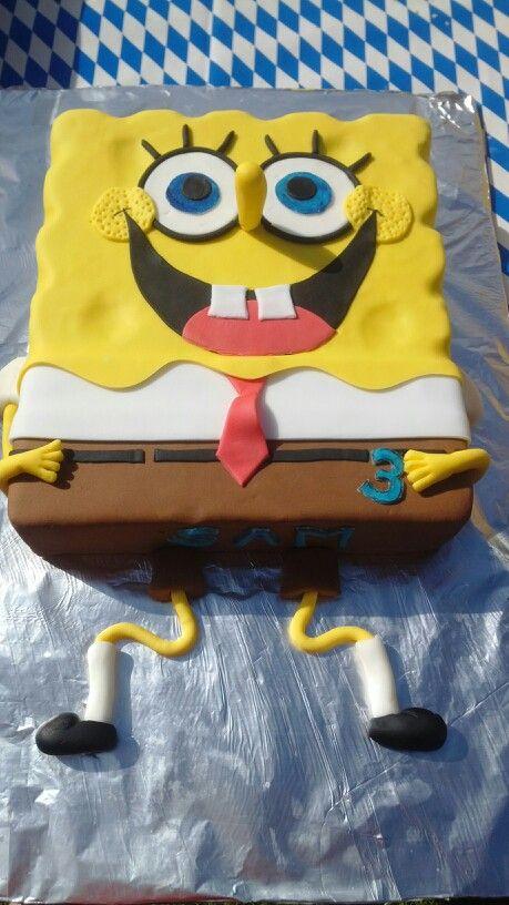 Spongebob Schwammkopf Cake My Cakes Cake Und Spongebob