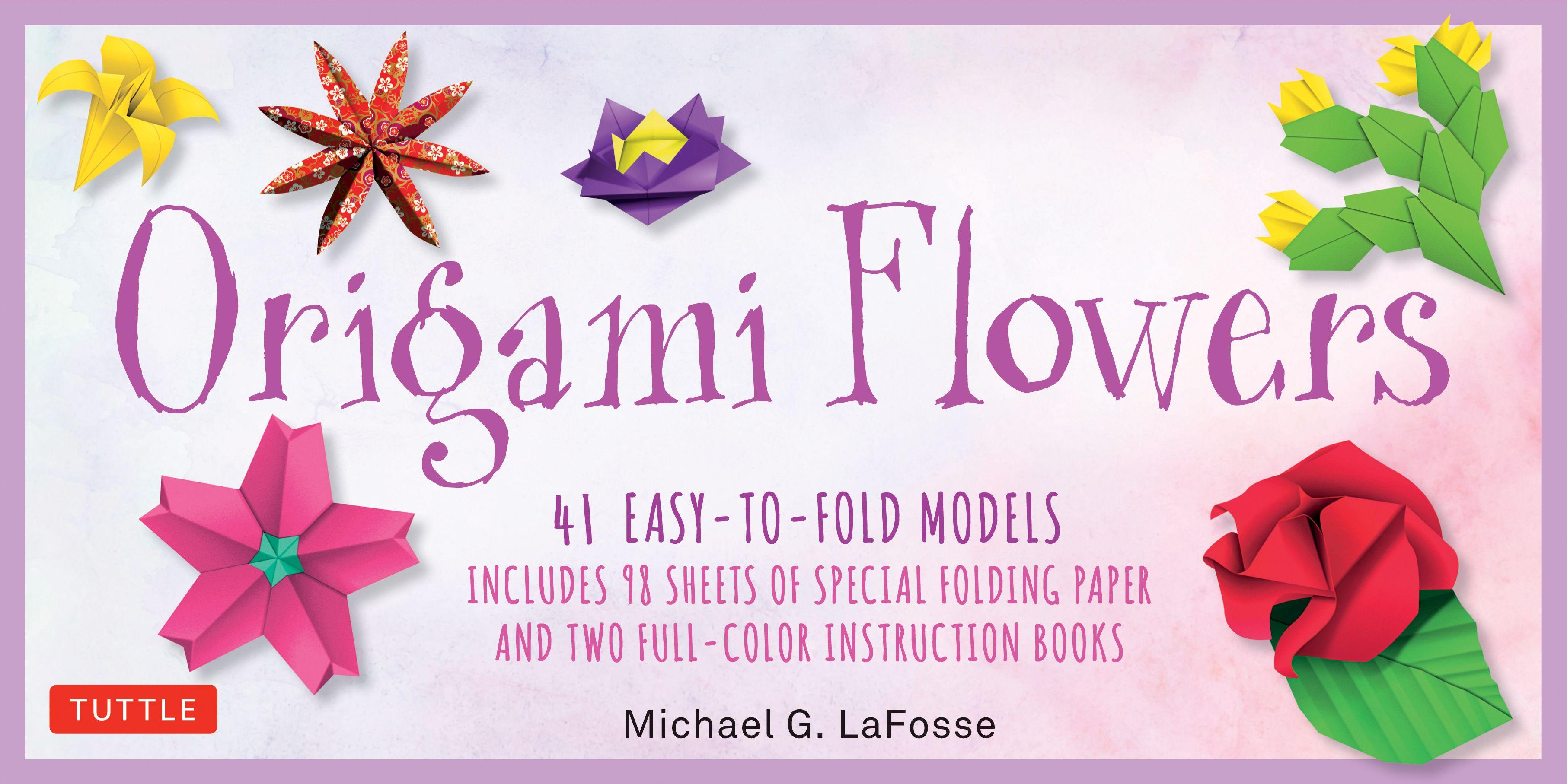 Origami flowers kit origami flowers and diagram origami flowers kit mightylinksfo