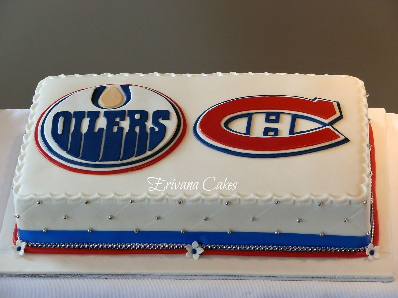 64 best cake flower images on Pinterest Birthday cakes Hockey