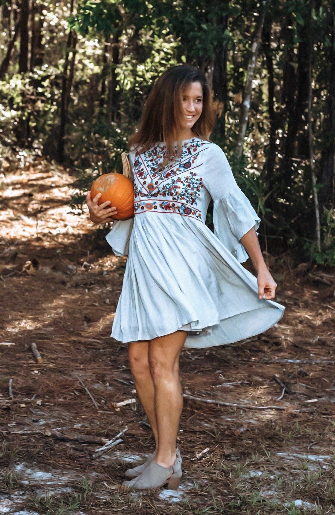 3f6249669 Miranda Dress in Gray Blue in 2018 | Products | Pinterest | Blue ...