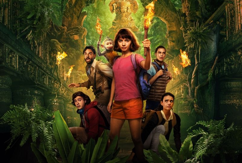 Dora and the Lost City of Gold 3571x5000 Adventure Family