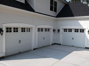 No On These Garage Doors Due To The Windows Look Like They Pop In