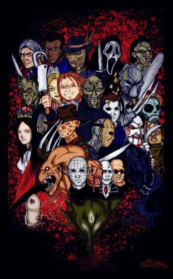 Pin by Jason Voorhees on Horror Team Horror movie icons