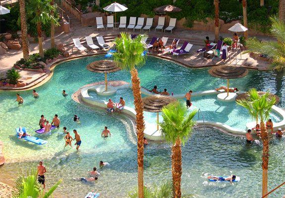 The Seven Wonders Of Las Vegas Pools Las Vegas Pool Vegas Pools Vegas Honeymoon