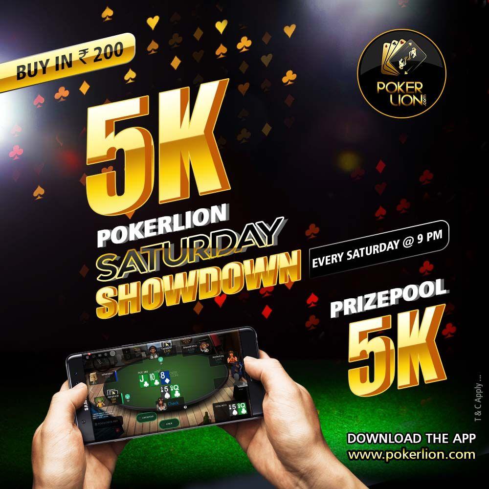 POKERLION SATURDAY SHOWDOWN Poker, Money games, Online poker