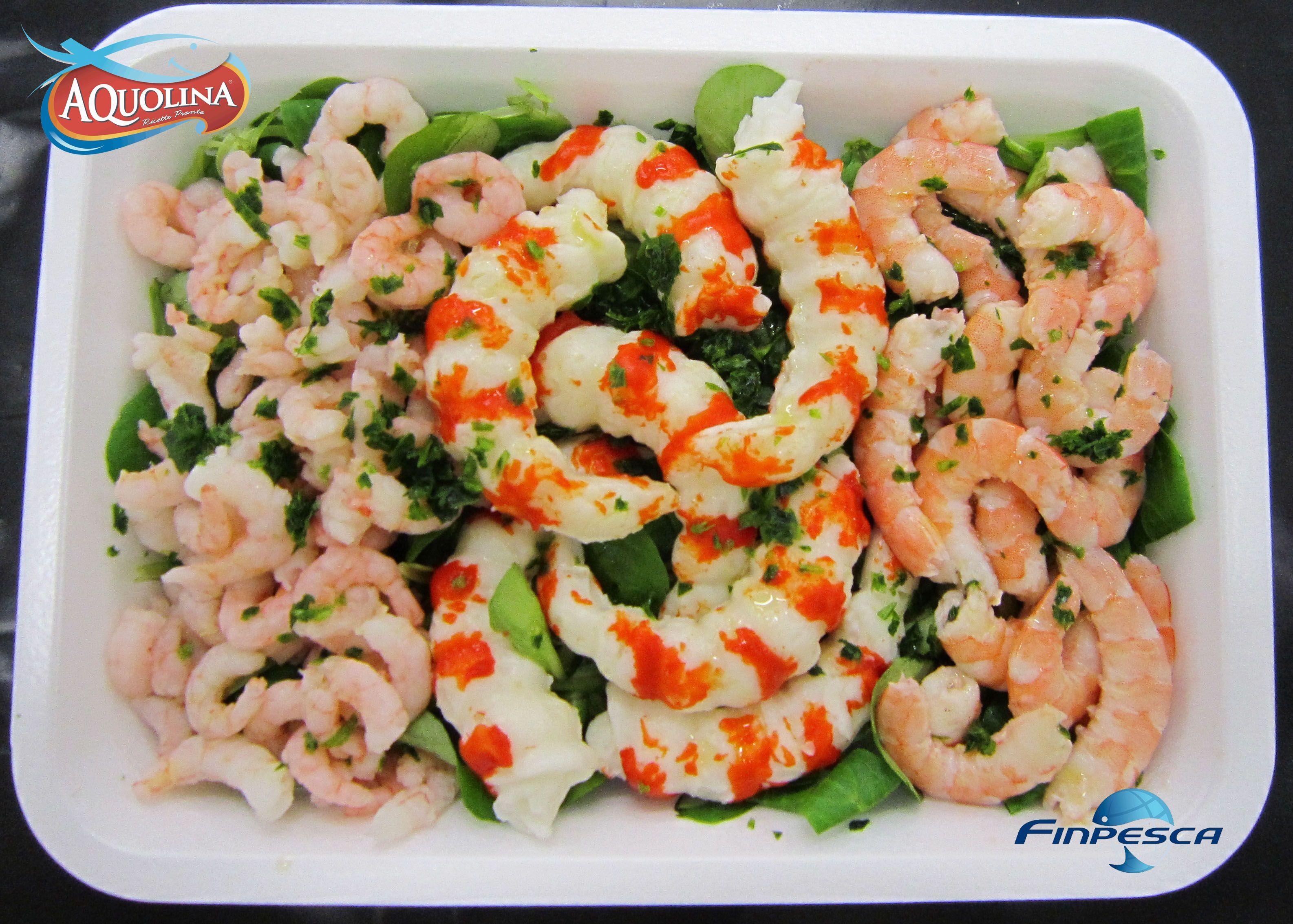 Che ne dite di una bella insalata di gamberi AQUOLINA?  #gamberi #pesce #ricettepesce   http://www.aquolinafinpesca.com/index.htm