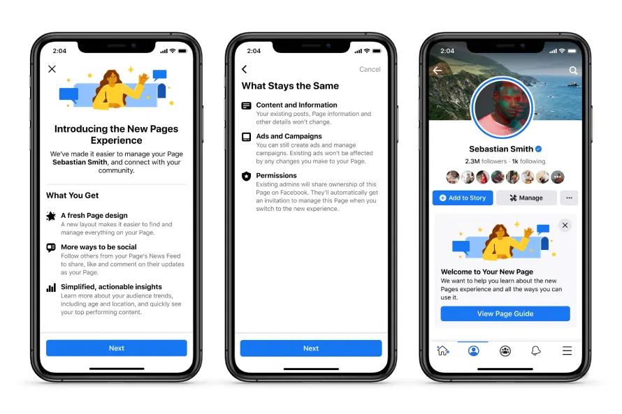 Introducing The New Pages Experience About Facebook In 2021 About Facebook New Facebook Page Create Ads