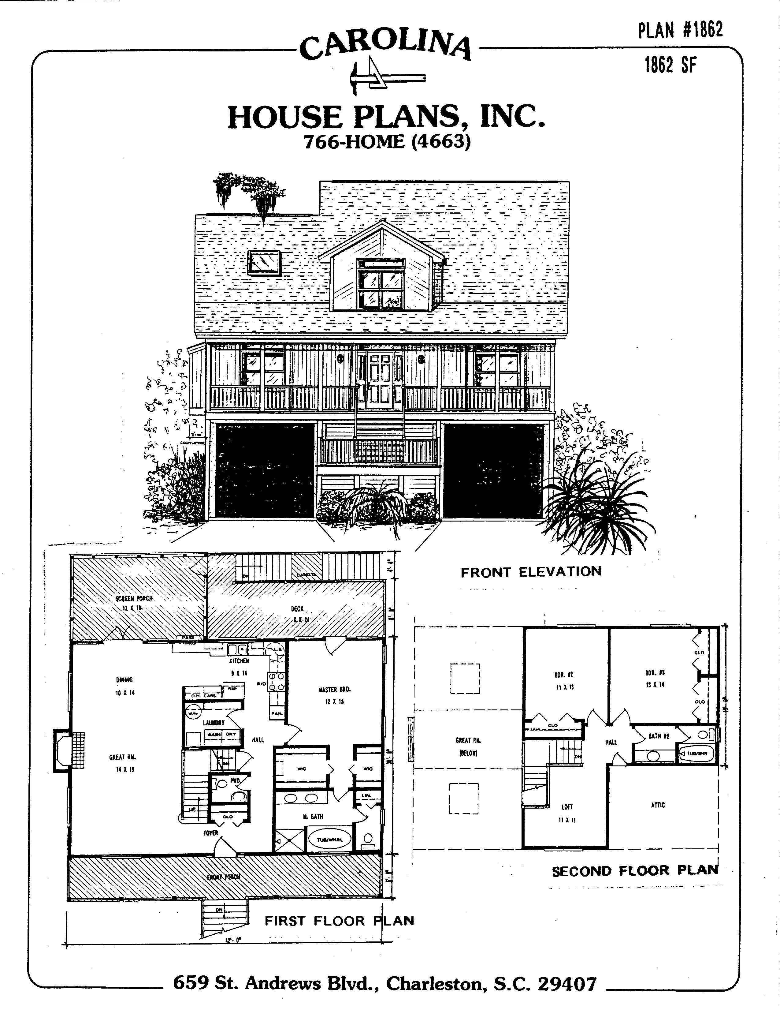 Flood Zone House Plans