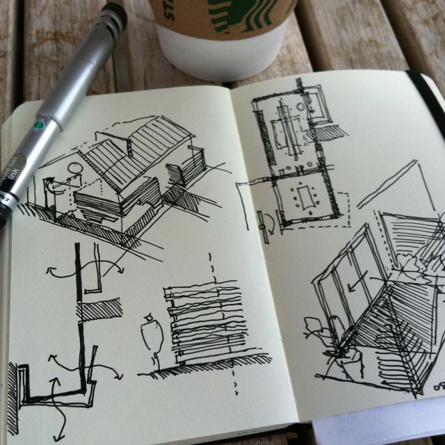 sketch challenge week 6 the final week models sketch pinterest skizzen architektur. Black Bedroom Furniture Sets. Home Design Ideas