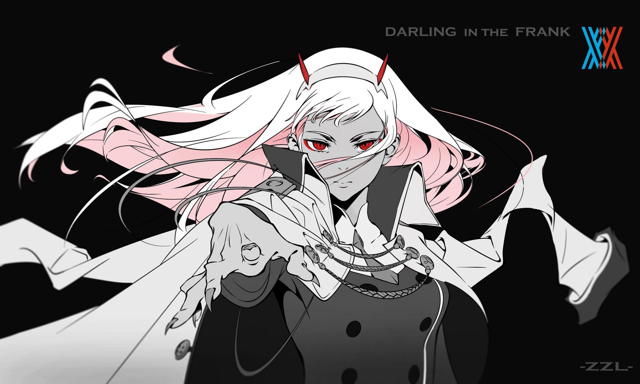 "ZZL on Twitter ""ダリフラ… "" Darling in the franxx, Zero"