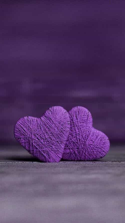Image about heart in Violet / Indigo by Cara on We Heart It