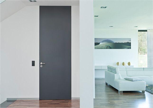 Moderne helle innentüren  raumhohe Türen System FLAT | türen | Pinterest | Moderne tür ...