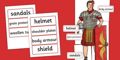 Large Roman Soldier For Display - romans, history, KS2 history
