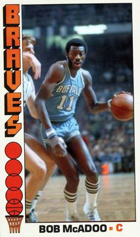 Bob Mcadoo Buffalo Braves Nba Legends Nba Mvp Nba