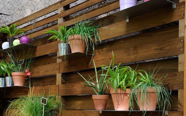 brise vue panneau en bois garden burger small space gardening pinterest burgers. Black Bedroom Furniture Sets. Home Design Ideas
