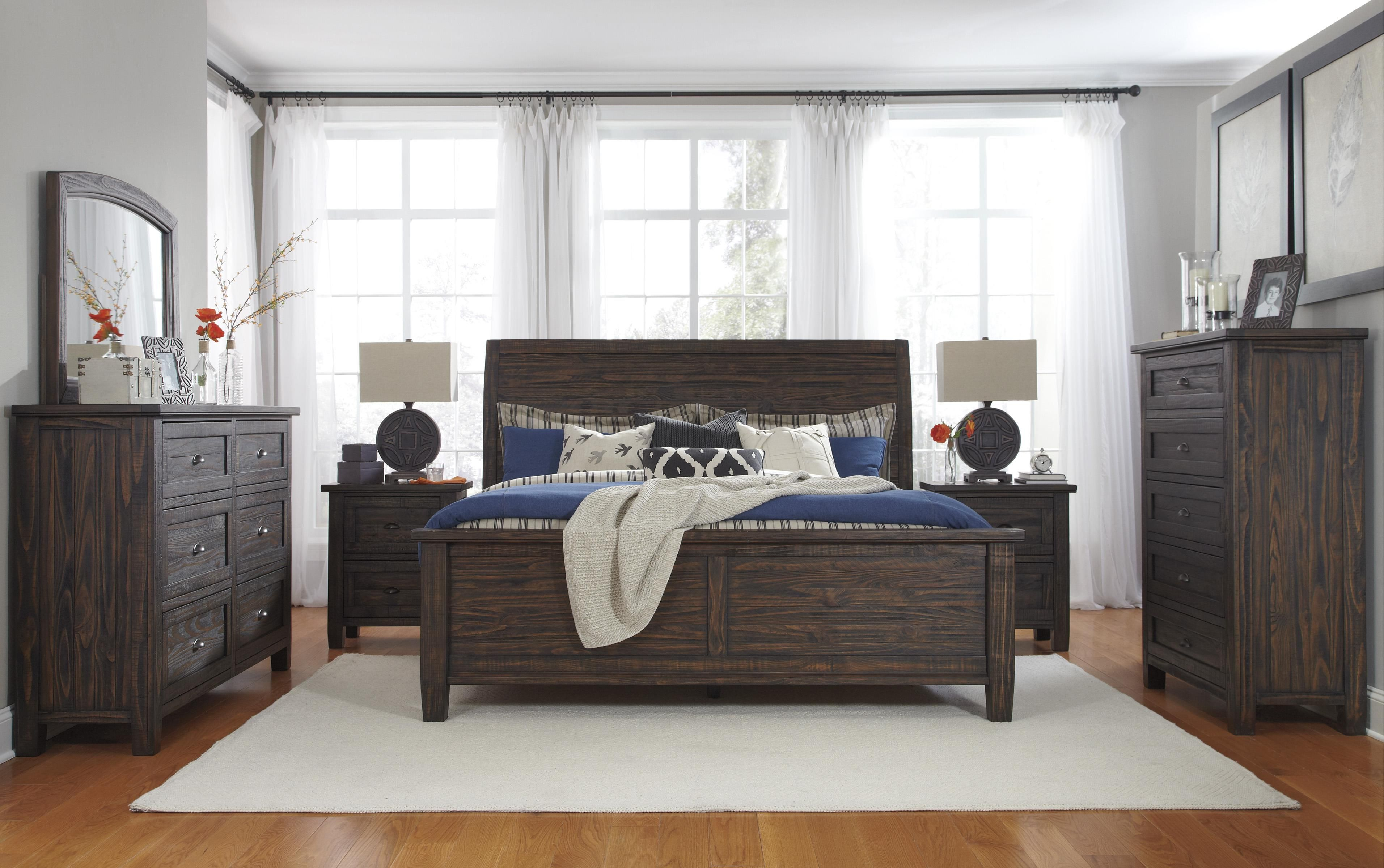 Trudell Queen Bedroom Group By Signature Design By Ashley Living Room Sets Furniture Rustic