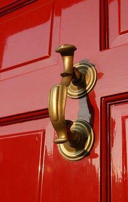 Federal brass door jewelry