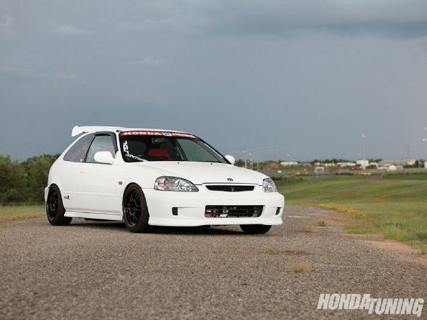 1998 Honda Civic Type R Honda Tuning Magazine Honda Civic Type R Honda Civic Hatchback Honda Civic