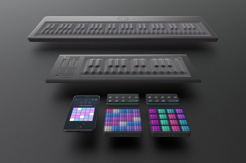 Roli S Seaboard Block Remodels The Keyboard Into A Mobile Studio Music Production Equipment Music Technology Music Studio