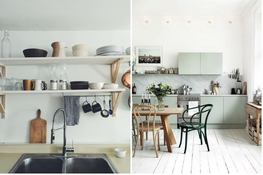 Cómo decorar y aprovechar cocinas pequeñas Decoración RED