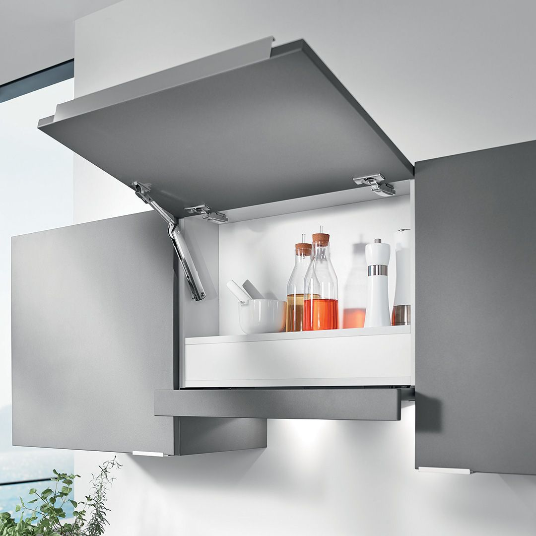 Blum Aventos Hk Xs Lift System Door Fittings Crockery