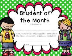 Winning student of the month award a couple of times in winning student of the month award a couple of times in elementary yelopaper Gallery
