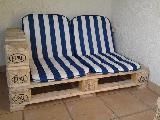 Couch aus Paletten Pellets Design Pinterest Pallets