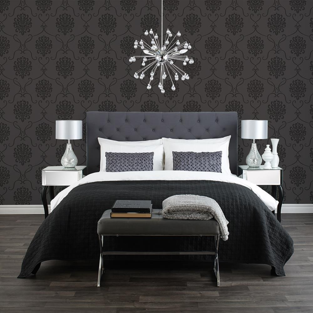 papier peint baroque rouleau double papiers peints d cor mural chambre. Black Bedroom Furniture Sets. Home Design Ideas