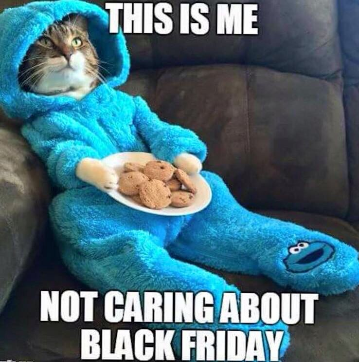 This Is Me Not Caring About Black Friday Thanksgiving Funny