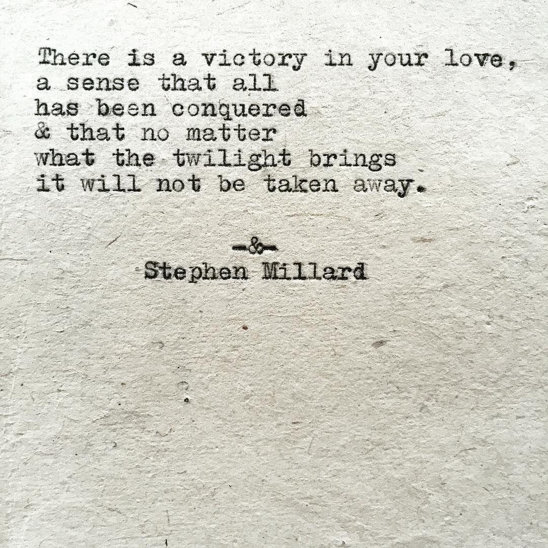 Stephen Millard original poem #730