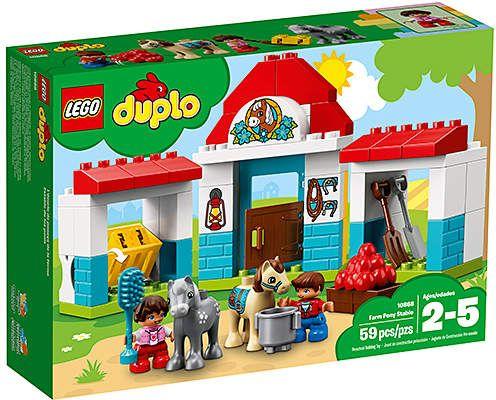 Legoâ Duploâ Town Farm Pony Stable Building Set Products