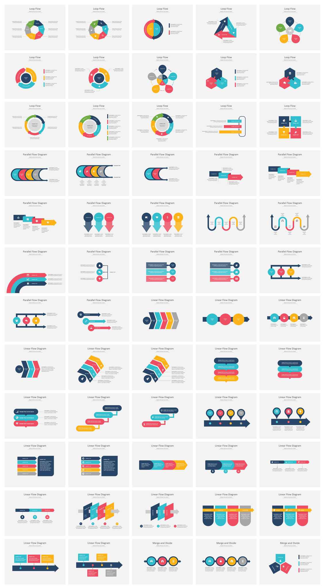 367 PowerPoint Diagram Templates & SmartArt PowerPoint Graphics