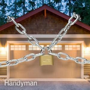 Garage Security Tips Home Security Tips Diy Home Security Home Protection