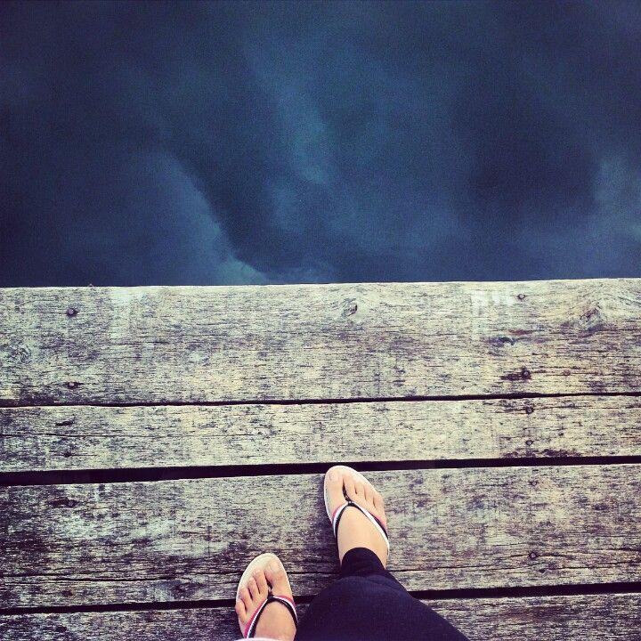 Deep water at Lake Toba