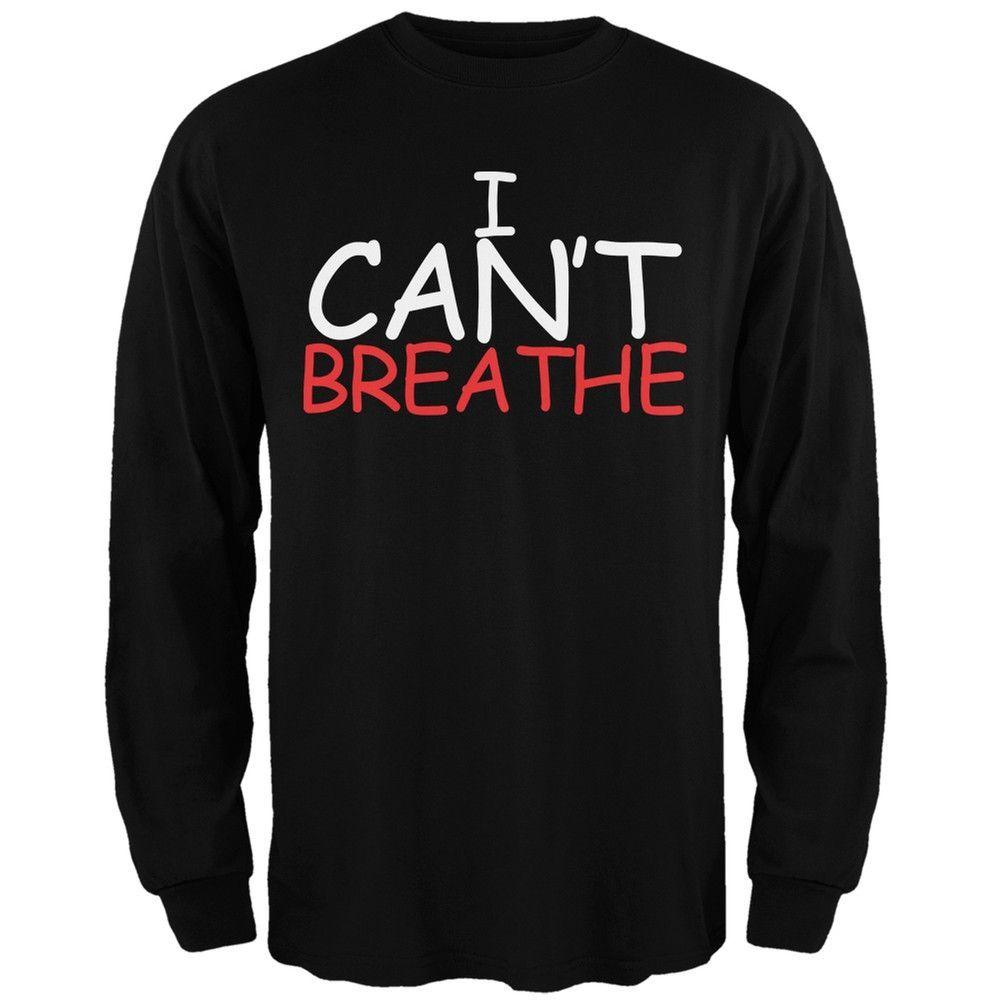 I Can/'t Breathe Comic Black Adult T-Shirt